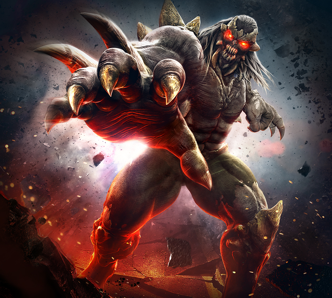 Infinite Crisis - Doomsday key art