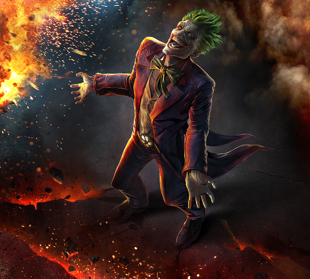 Infinite Crisis - Joker key art