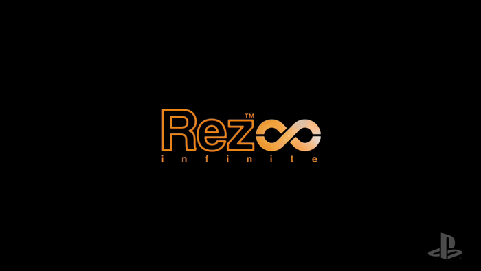 Rez Infinite on Playstation VR