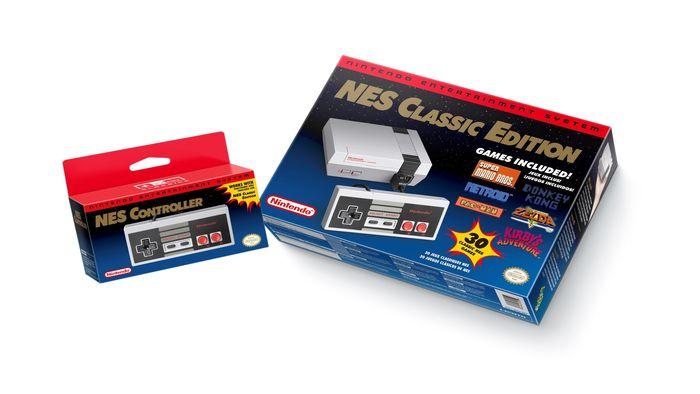 Nintendo Announces New and Familiar NES Console
