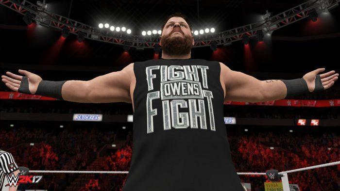 WWE 2K17 Trailer Focuses on Basic Controls