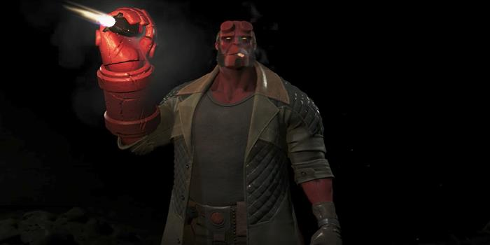 Hellboy Highlights Injustice 2's New Fighter Pack