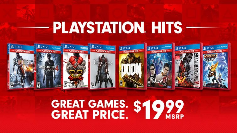 Playstation Announces Playstation Hits for PS4 Games – Coming June 28th