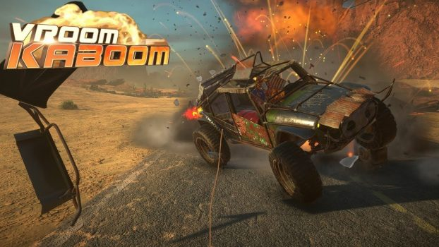 VROOOM KABROOM Launches On PlayStation 4