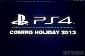 PS4 realase date