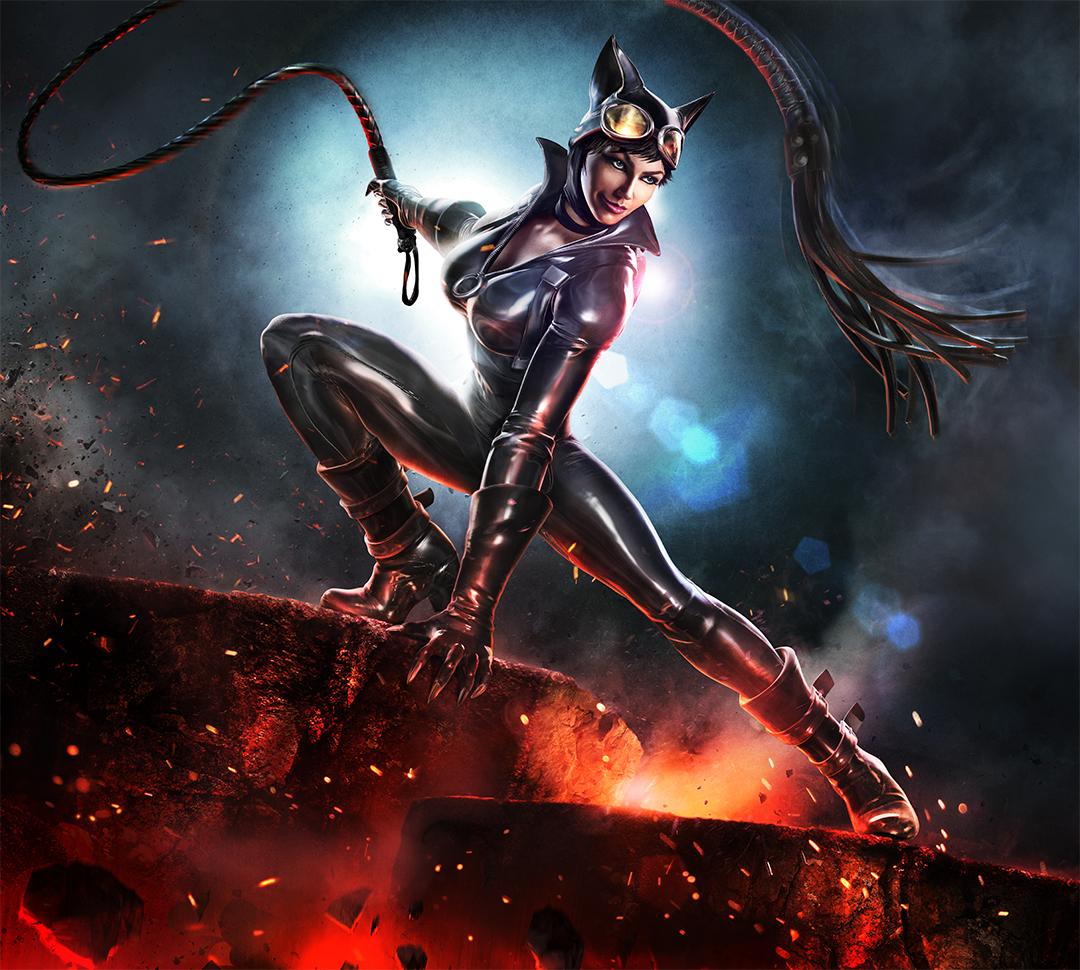Infinite Crisis - Catwoman key art